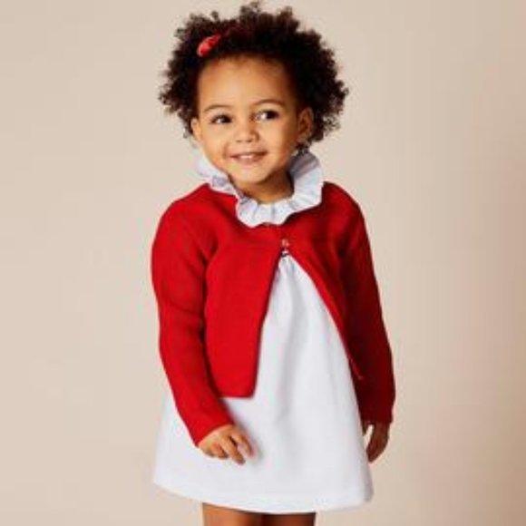 H&M Red Bolero Cardigan